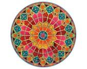 Mandala Print - Painting - RW: Notre-Dame, Paris - 8x10 Limited Edition Giclée Print 1/150
