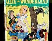 Alice in Wonderland - Vintage Children's Book