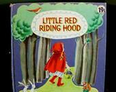 Little Red Riding Hood - Vintage Children's Book