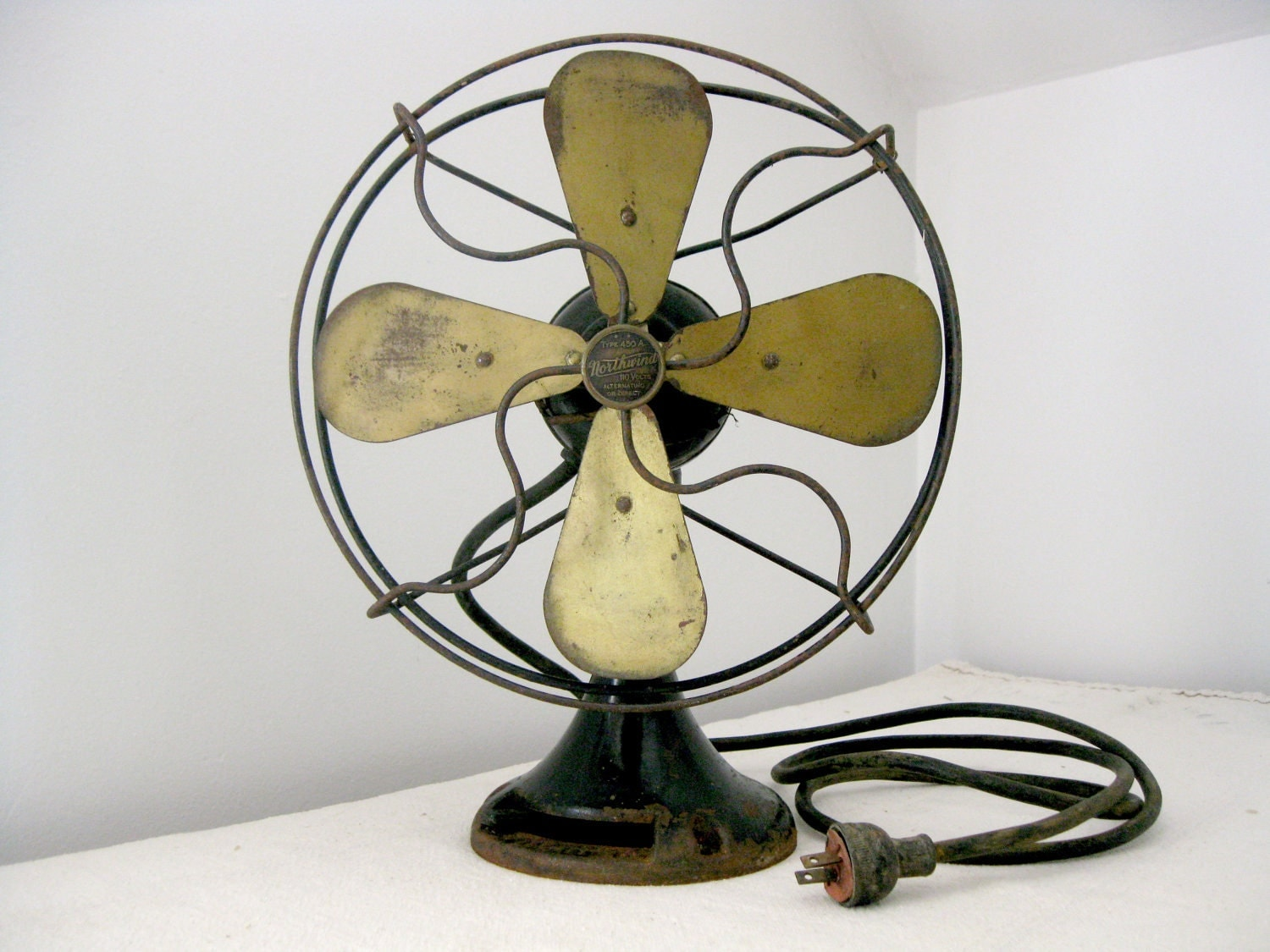 Request a custom order and have something made just for you Vintage Desk Fan