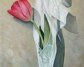 DOLCE Tulip Watercolor Limited Edition Gicl'ee Print