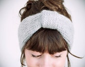 knitted  wool & acrylic headband, choose your color
