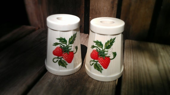 Candle Holders - Wick N Sticks Strawberry Candle holders