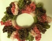 Pink Camo Scrunchie (M1)
