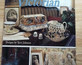 Decorating Victorian Book Two by Leisure Arts No. 2156 Crochet Doily Pattern Leaflet 1991 FREE SHIPPING