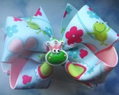 Frog Prince Basic Boutique Bow