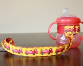 Sippy Cup Leash   Sippy Strap   Sippy Cup Strap Suction Cup   Bottle Tether   Sippy Cup Strap   Suction Sippy Strap   Fire Trucks