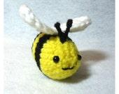 Bee Happy Amigurumi Bumble Bee with Safety Eyes