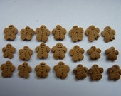 Dollhouse Miniature Gingerbread men (12th Scale),