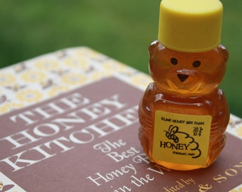 2 oz. Raw Wildflower Honey Bear  You choose color