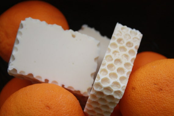 Natural Beeswax and Orange Scented Soap
