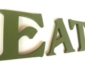 EAT Sign - Inspiration Wall Words - Olive Decor