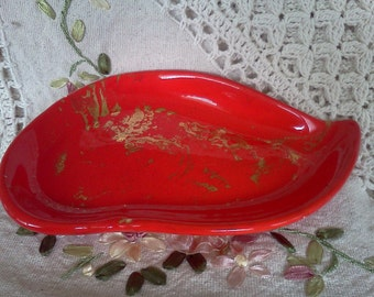 Vintage Atomic MidCentury Ceramic Dish