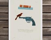To kill a Mocking Bird customized film poster