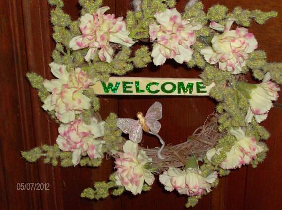 Floral Doorknob Hanger