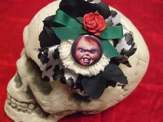 Chucky Childs Play Hairclip