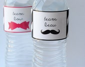 Items Similar To Gender Reveal Party Water Bottle Labels