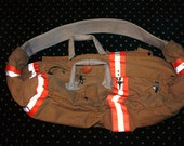 BUNKER BAGS - Recycled Firefighter Turnout Gear Duffel Bag Overnight