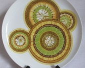 Vintage Noritake Hawaiin Holidays Mai-Tai plate