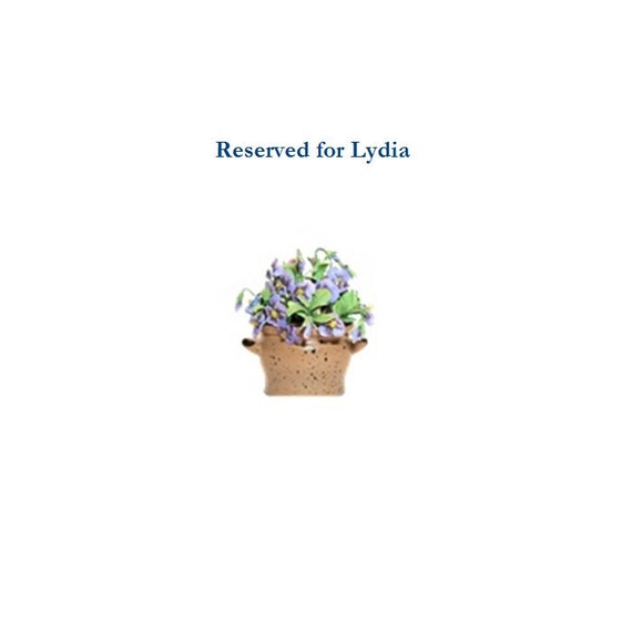 Reserved for Lydia