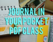 Journal In Your Pocket - Downloadable PDF