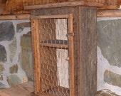Small Barnwood Make Do Storage Cupboard