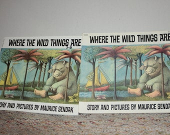 Where The Wild Things Are  by Maurice Sendak printed 1991