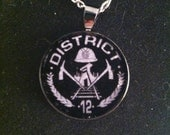 "The Hunger Games ""District 12"" Pendant"