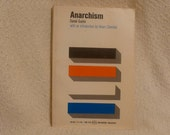 Anarchism by Daniel Guerin. 1971 Paperback Copy with Noam Chomsky introduction