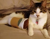 RESERVED FOR crysania: Coffee Cup Latte Catnip Toy for Cats