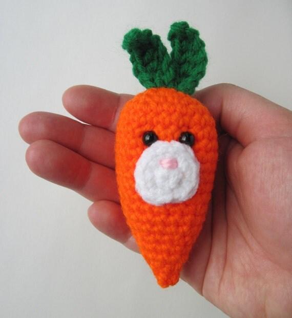Amigurumi Bunny Carrot