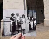 Looking Into the Past: Beauty Pageant Winners, Union Station, Washington, DC (8x10)