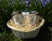 Mothers Day Gift Set with Hand Poured Soy Mason Jar Candles and Melts- you choose your scents