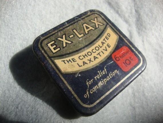 Vintage EX-LAX tin