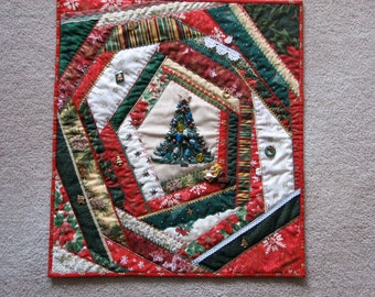 Quilted Lap Quilt Quilted Throw Quilted Blanket : handmade quilted wall hangings - Adamdwight.com