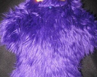 Purple Dia De Los Muertos Monster