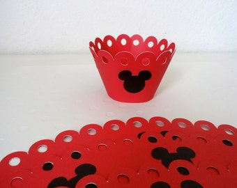 Mickey Mouse Cupcake wrapper