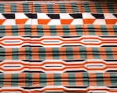 Kente Fat Quarter African wax Print - 100 per cent cotton
