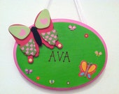 Butterfly Wall Plaque - Ready for Personalization