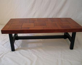 Coffee Table, Minimalist, Mahogany