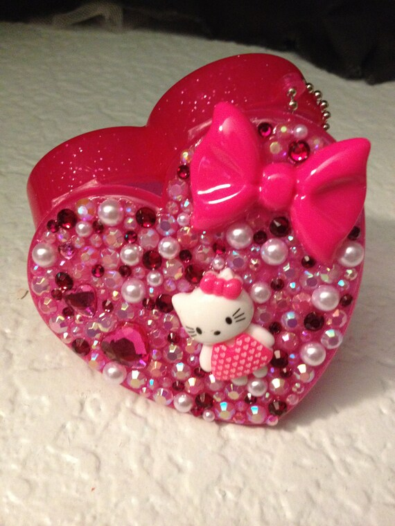 Cute Pink Heart Pill Case