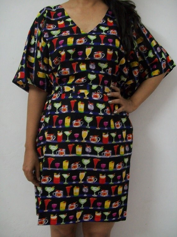 Kaftan Dress ,Perfect gift for her,Beachwear,Perfect for outings to be worn over jeans or leggings, lounges.
