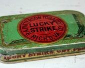 Lucky Strike Vintage Tin