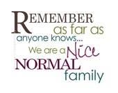 Nice Normal Family - purple
