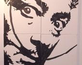 "Acrylic Painting Tribute Series ""Dali"""