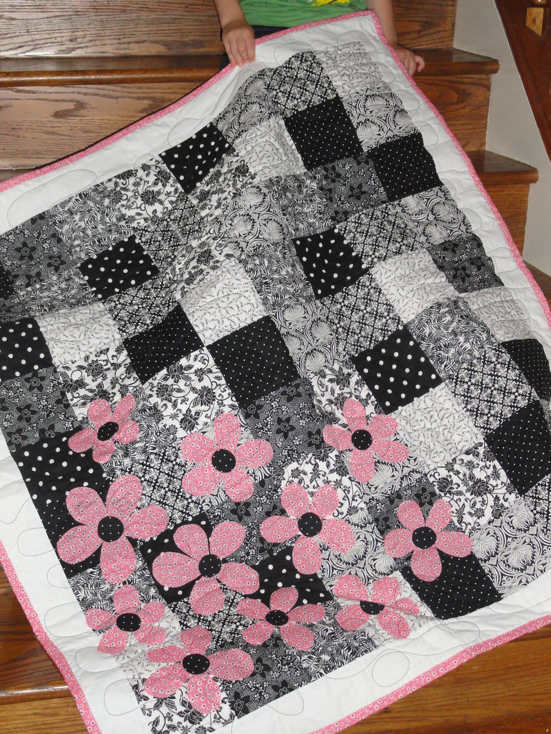 Quilting Patterns Basic : Easy Quilt Pattern Spring is Here PDF INSTANT DOWNLOAD