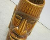 Tiki glass Vintage Drinking Barware PRICE DROP