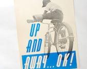 Vintage Modern Bicycle Poster