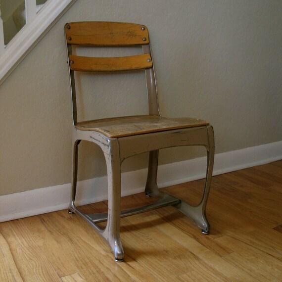 Mid Century School Chair