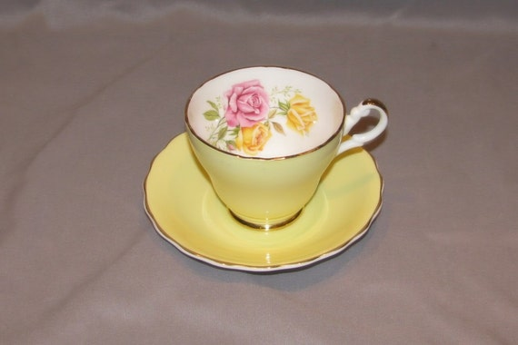 Tea Cup and Saucer - Consort Fine Bone China
